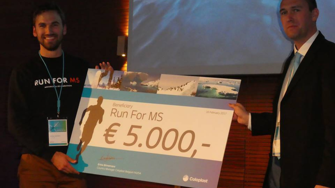 Run for MS - Antarctica Ice Marathon